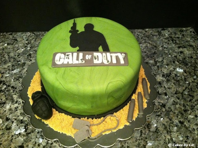 Cakes by Liz: Call of Duty cake