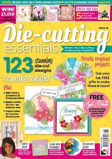 Bonscraft: Die-Cutting Essentials Issue 26 - Happy Days