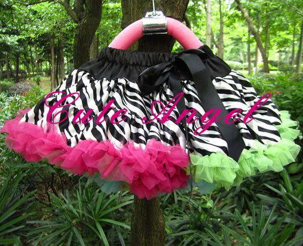 Девочки-младенцы зебра пачка юбки игрушки-мать буф юбка юбка принцесса одежда детские велюр пачка юбка 5 шт. / много