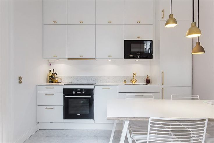 Kok Veddinge Vit : Ikea, Brass and Marble countertops on Pinterest
