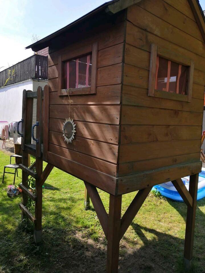 Stelzenhaus Holzhaus Spielhaus Mit Rutsche Kinder Garten Haus In Niedersachsen Rinteln Spielzeug Spielzeug Draussen Kinder Garten Spielhaus Mit Rutsche