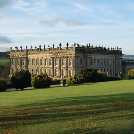 """Chatsworth House"": Derbyshire, England."