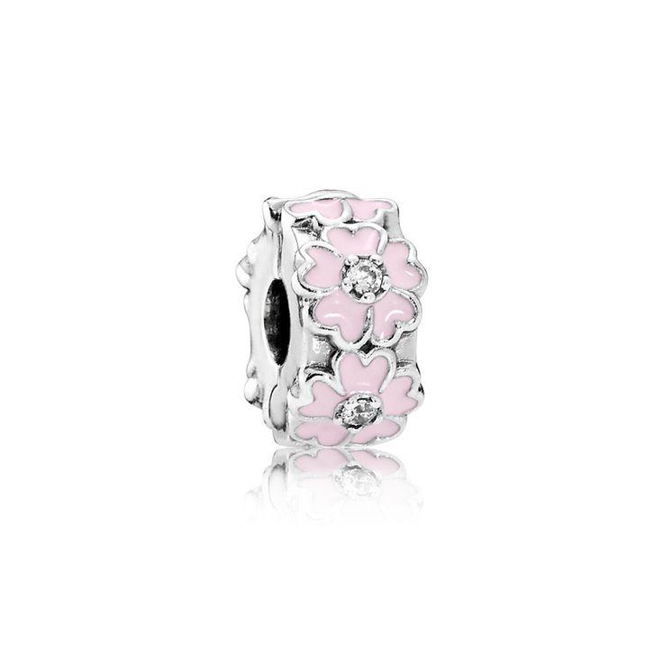 Pink Primrose Clip - Pandora UK | PANDORA eSTORE