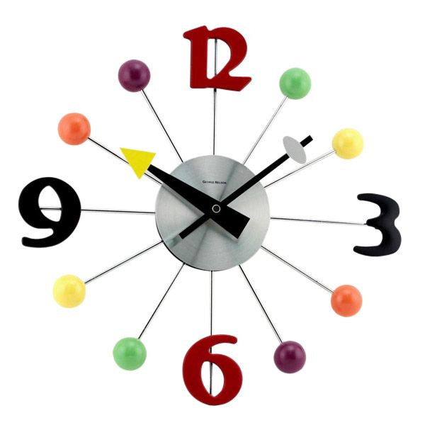 Big Numbers Wall Clock Cupcakes Mayberry Dreams