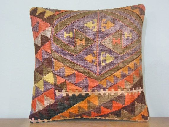 Chevron Pillow Cover Chevron Cushion Cover southwestern pillowcase chevron Throw Pillow handmade decorative tribal pillow handwoven turkish