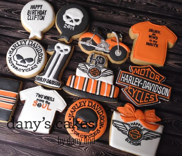 Harley Davidson Cookies By Danyu0027s Cakes