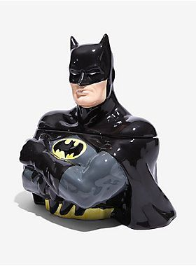 Batman will keep your cookies safe | DC Comics Batman Cookie Jar
