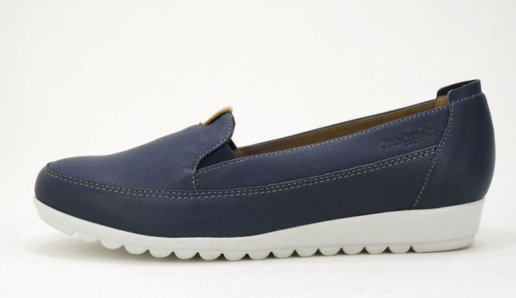 Froggie Combo Navy Multi Loafer. R 1'099. Handmade Genuine Leather. Handcrafted in Durban, South Africa.  Code: 10875. See online shopping for sizes. Shop for Froggie online https://www.thewhatnotshoes.co.za Free delivery within South Africa
