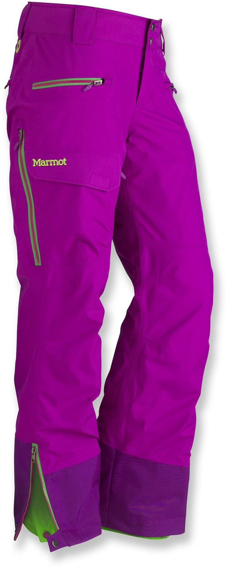 Marmot Freerider Insulated Pants - Women's. I don't like this color.. I'd take dark burgundy, or black. Marmot is a rad brand.