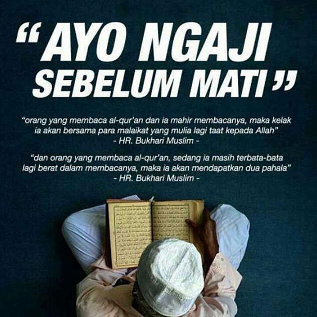 """""""Orang yang membaca Al Qur'an dan mahir membacanya, maka kelak ia akan bersama para malaikat yang mulia lagi taat kepada Allah """" (HR Bukhari Muslim)  #mukena #mukenaseri #mukenamotif #mukenamewah #mukenaunik #mukenaspandek  #mukenacantik #mukenabali #mukenapremium #mukenajumbo #mukenakatunjepang #mukenacollection #mukenasolo #mukenabali #mukenagrosir #mukenamonocrome #mukenaecer #mukenamurah #mukenashabbychic #mukenabaru #mukenadubai #mukenaterusan #mukenarayon #mukenacouple #mukenadewasa…"""