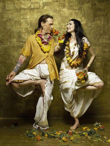 Sharon Gannon and David Life, founders of Jivamukti Yoga