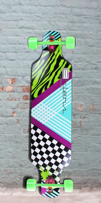 """Longboards USA - Drop Through Bamboo Longboard from Ehlers Party Rock 40""""  - Complete, $99.00 (http://longboardsusa.com/longboards/cruiser-longboards-riding-style/drop-through-bamboo-longboard-from-ehlers-party-rock-40-complete/)"""