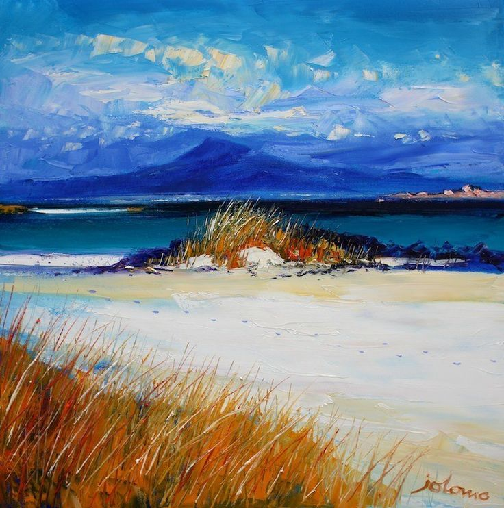 """Quiet Summer Evening - Isle of Iona"" John Lowrie Morrison"