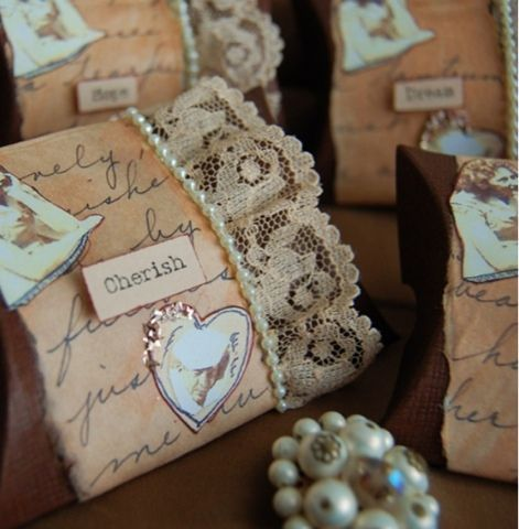 Stunning Vintage Themed Wedding Favors Pictures - Styles & Ideas ...