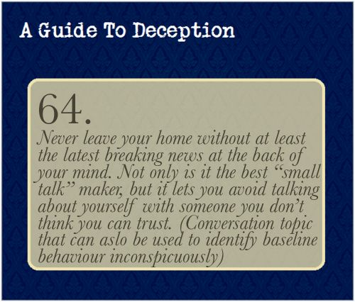 best a guide to deception images sherlock fandom  a guide to deception