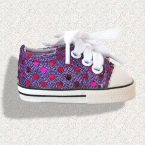 Sparkly trainers by Wegirls at mydollboutique