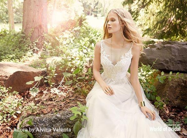 Ti Adora by Alvina Valenta Fall 2015 Wedding Dress