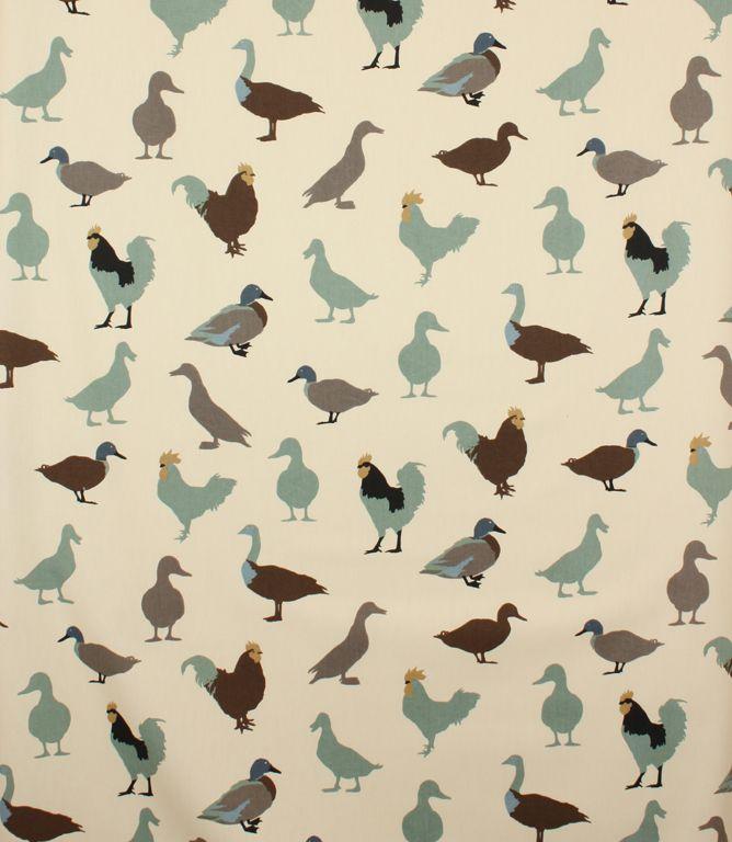 Cock a Leekie Patterned Fabric | Contemporary Fabrics | Just Fabrics