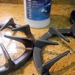 De pitten van je gasfornuis schoonmaken zonder schrobben?