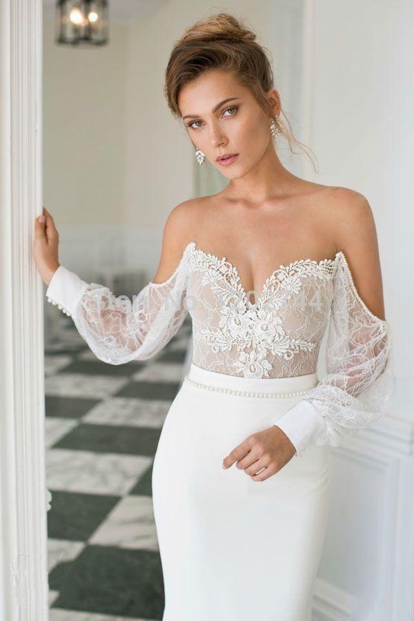 Vestidos De Fiesta New Arrival Romantic Evening Dresses Sweetheart Cap Sleeve Long Mermaid Floor Length Appliques Satin Gown