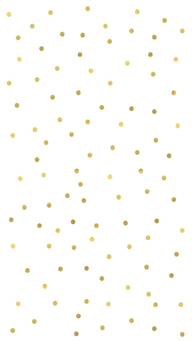 25 Great Ideas About Gold Polka Dot Wallpaper On Pinterest