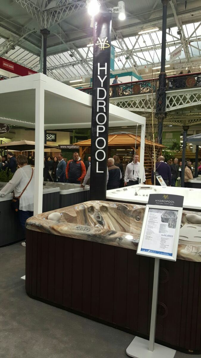 Hydropool at the Ideal Home Show 2016