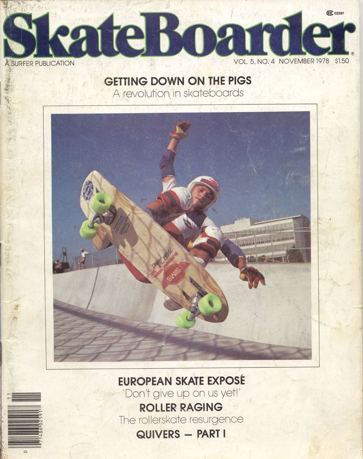Skateboarder Magazine November 1978