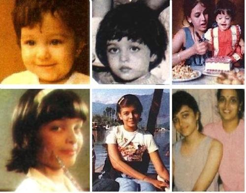 Bollywood actress and Loreal spokeswoman Aishwarya Rai childhood photos http://celebrity-childhood-photos.tumblr.com/