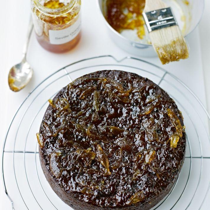 Cakes sticky prune and date cake