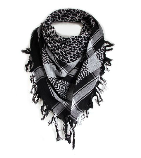 Shemagh Scarf - Great for keeping out the cold, dust, dirt, bugs and sun.