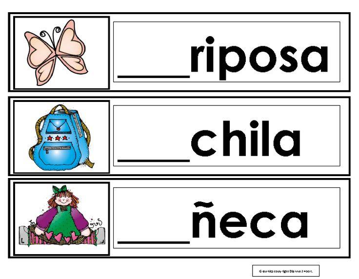 Aprendiendo a leer sílabas y palabras con la letra m