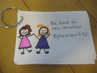 Tiny Hearts Blog: Lesson 17: God wants us to...be kind.
