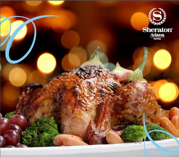 Sheraton Adana Hotel's talented chefs cooked for you!