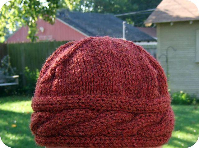Irish Beret Knitting Pattern : Ravelry: Irish Hiking Hat - Bulky Version pattern by ...