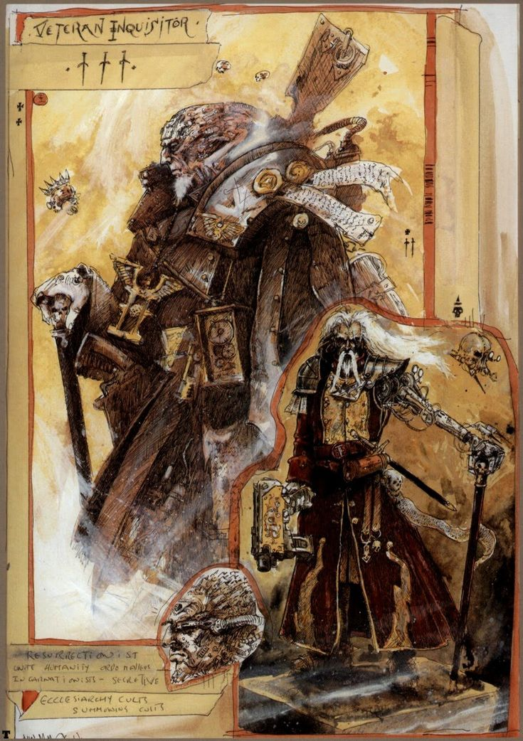 Illustration Intro: Lecture: John Blanche
