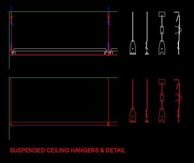 Details Hanging Lamp Dwg Detail For Autocad Designs Cad: False Ceiling Design Concept Cad Block Drawing .dwg