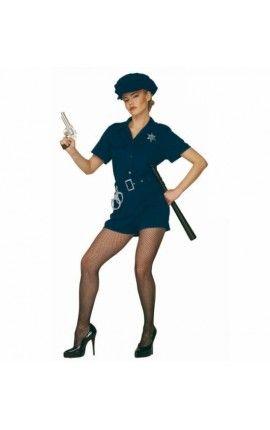 Disfraz de oficial de policía sexy