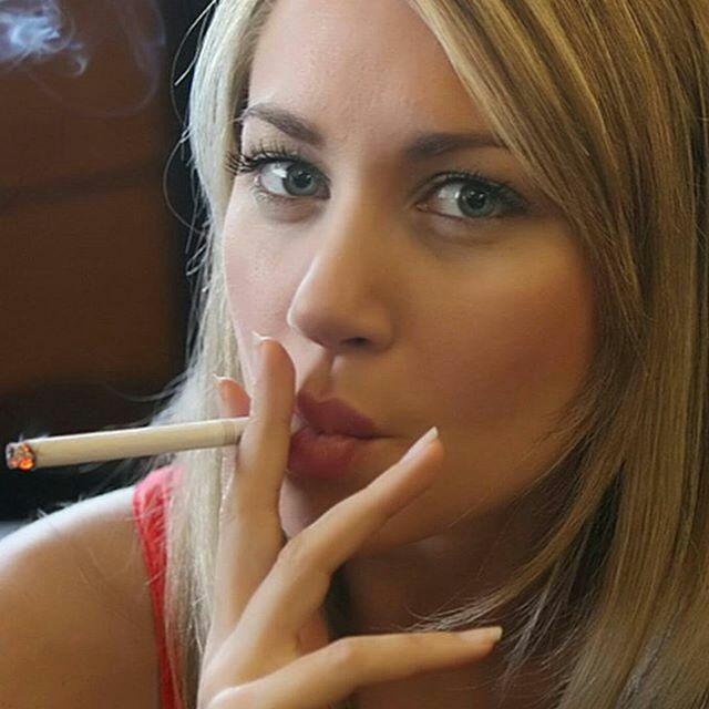 smoking cigarette morning porn