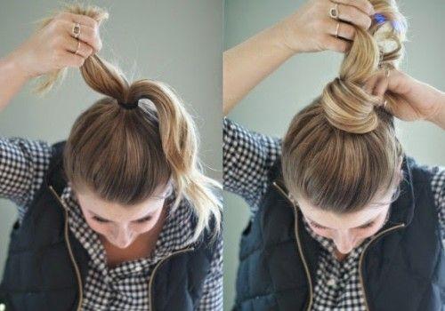 5 nice simple and stylish bun hairs