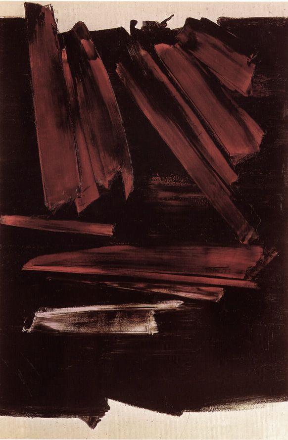 Peinture 195 x 130 cm, 2 octobre 1960 | pierre-soulages.com