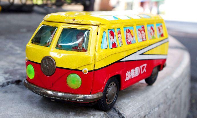 1970s イチコー 昭和レトロ 幼稚園バス