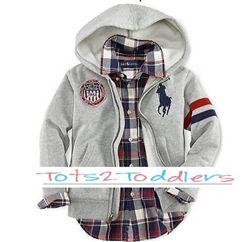 Polo hoodie - $14.95