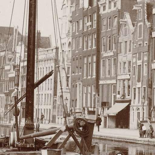 Het Rokin in Amsterdam, James Higson, 1904 - Zoeken - Rijksmuseum