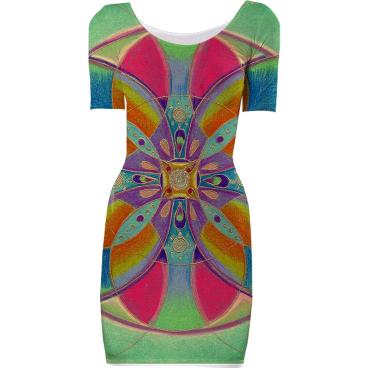 Mandala dress from Print All Over Me