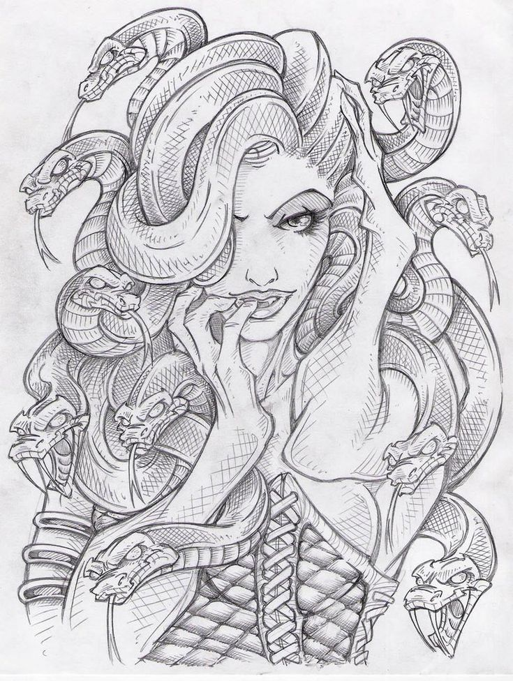 medusa tattoo new school - Buscar con Google