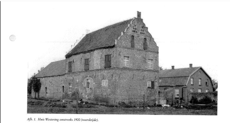 Huis Westering, Maasbree.  Destroyed in 1944 during WW2. Building had changed over time, but the van Lom's lived here during the 17th century. http://www.kastelenbeeldbank.nl/_themas/Castellogica/arts/3/p.%20249-256%20Huis%20Westering%20te%20Maasbree.pdf