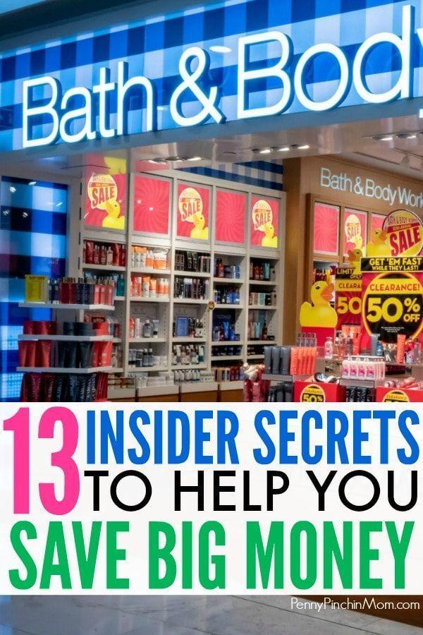 13 Inside Secrets To Saving Big Money At Bath Body Works Bath