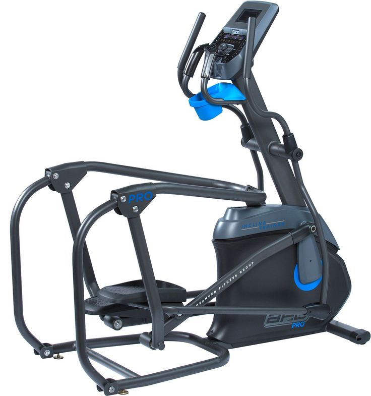 AFG Pro 7.2AI Incline Trainer, Blue Fitness applications