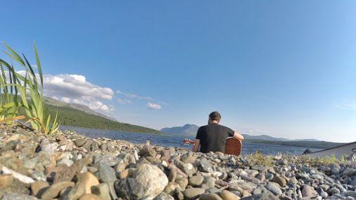 Practice makes perfect • #tstMoments  • #tstCanada w @gibsonguitar @parkscanada @NLtweets @explorecanada  • #ExploreCanada #ExploreNL #Gibson #GoPro • #Travel #Canada #Newfoundland #grosmornerocks