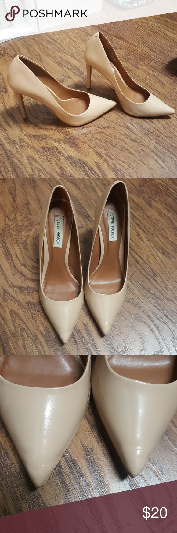 Make offer everything must go. Steeve Madden Heels Cute Steeve Madden heels. Some creasing go the toes and sides that comes with wear. Steve Madden Shoes Heels